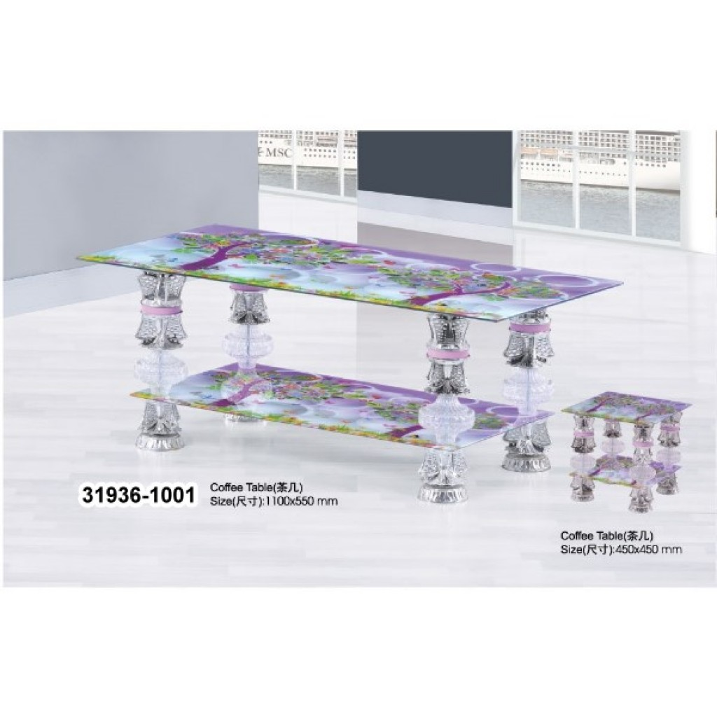 31936-1001 Tempered Glass Coffee Table