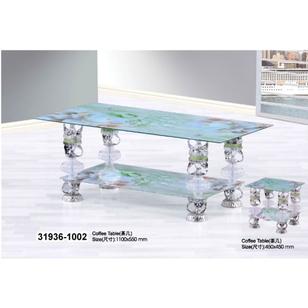 31936-1002 Tempered Glass Coffee Table
