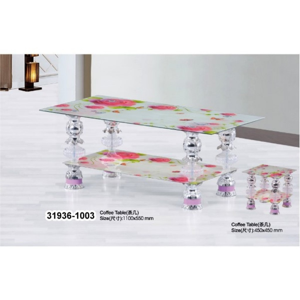 31936-1003 Tempered Glass Coffee Table