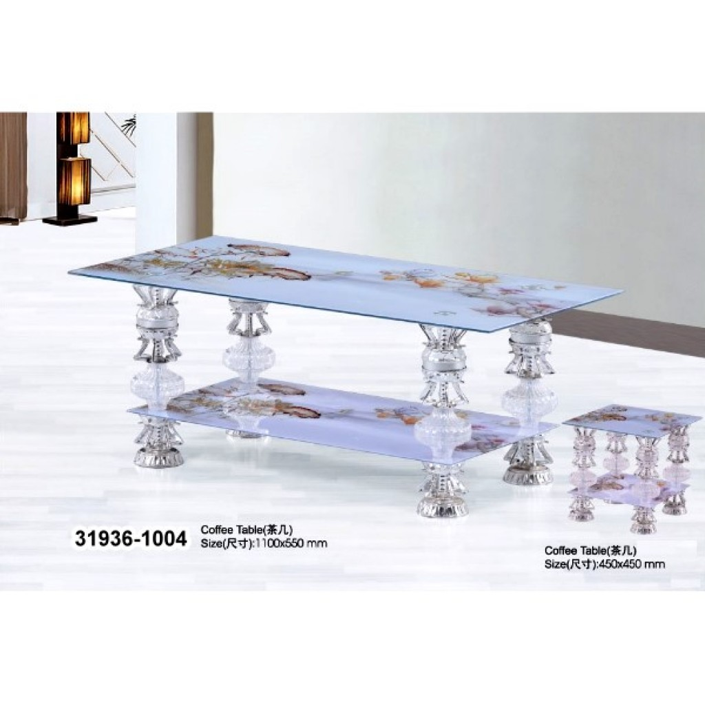 31936-1004 Tempered Glass Coffee Table