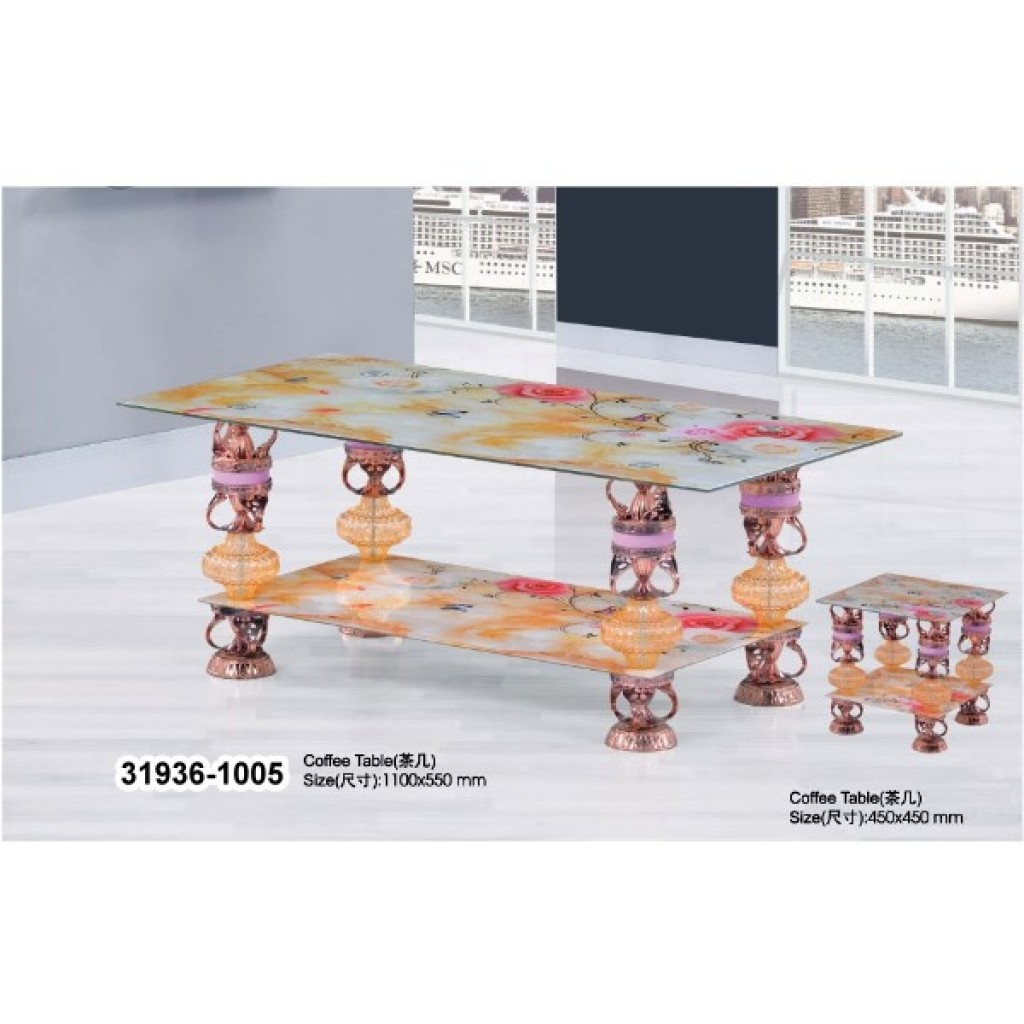 31936-1005 Tempered Glass Coffee Table