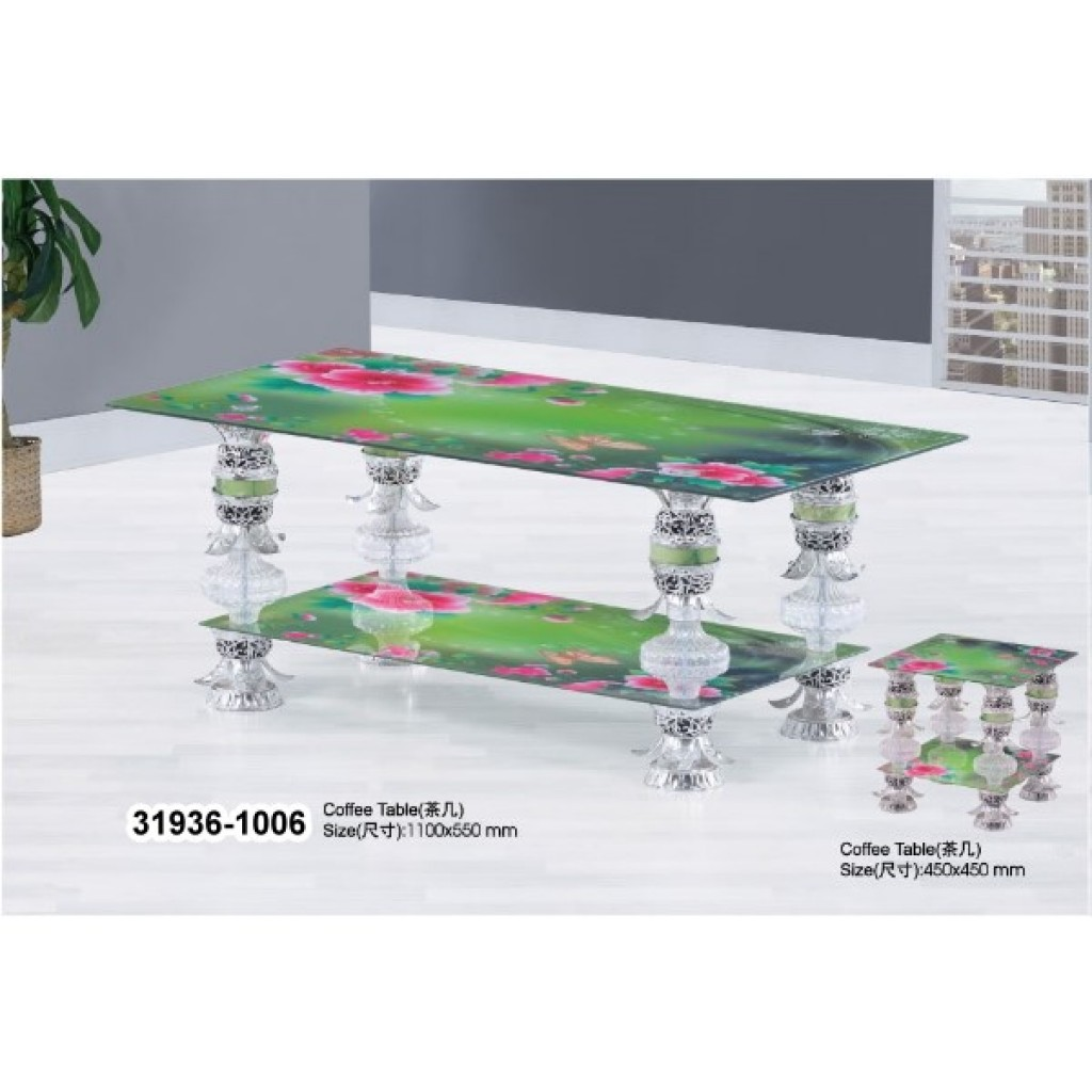 31936-1006 Tempered Glass Coffee Table