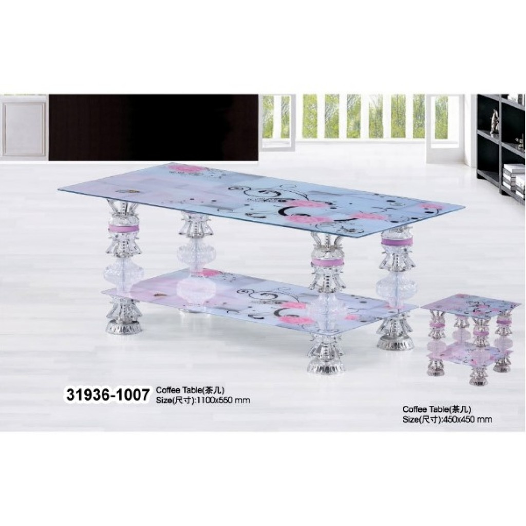 31936-1007 Tempered Glass Coffee Table