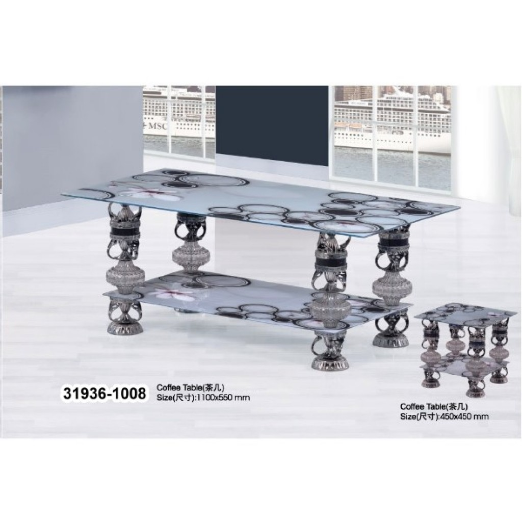 31936-1008 Tempered Glass Coffee Table