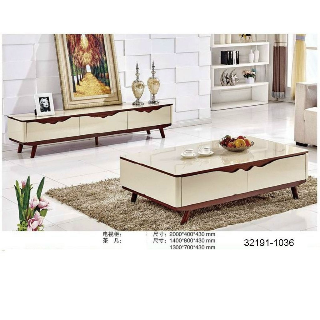 32191-1036 TV Cabinet and coffee table