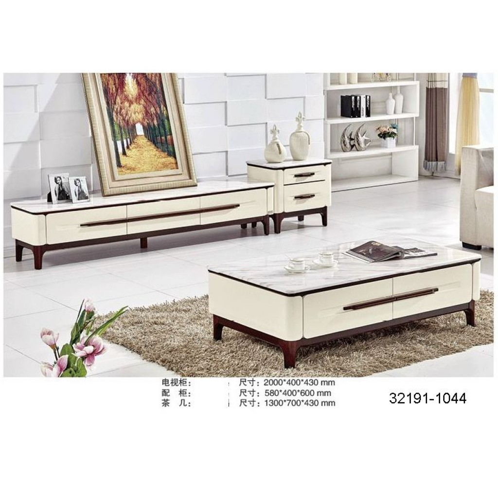 32191-1044 TV Cabinet and tea table