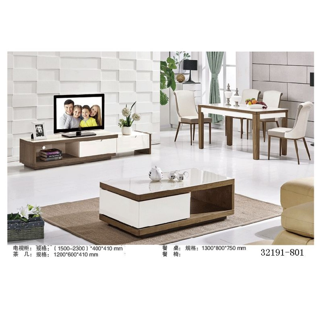 32191-801 TV Cabinet and tea table