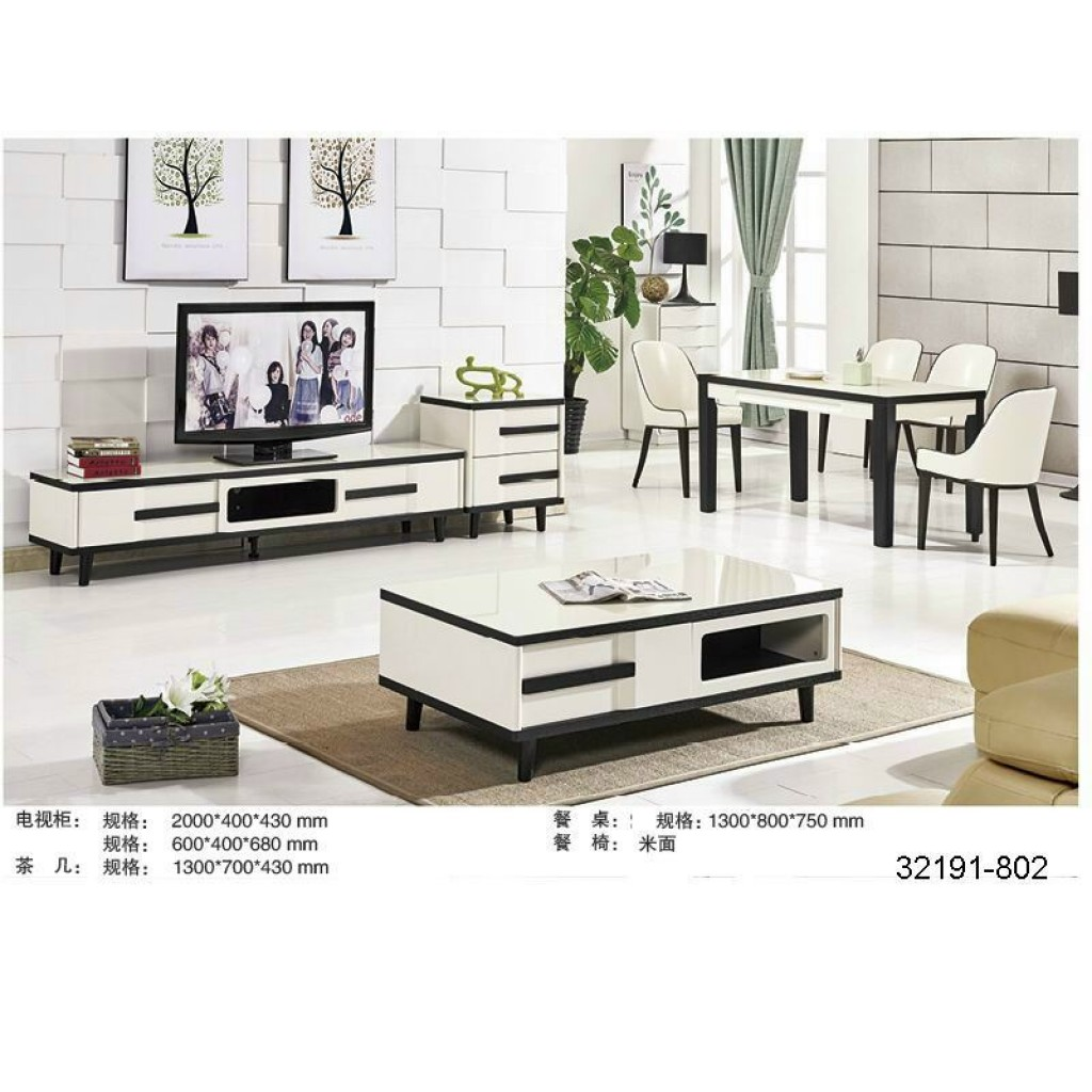 32191-802 TV Cabinet and tea table