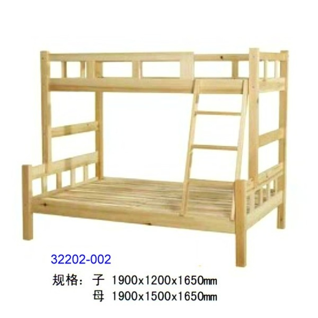 32202-002 Wooden children bunk bed