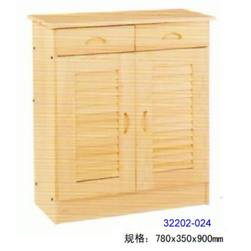 32202-024 Wooden shoes cabinet