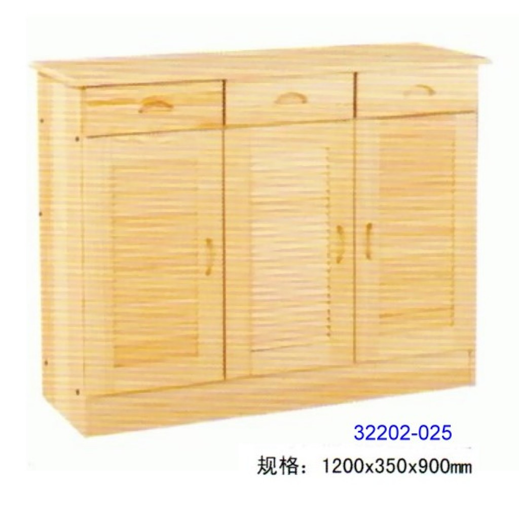 32202-025 Wooden shoes cabinet