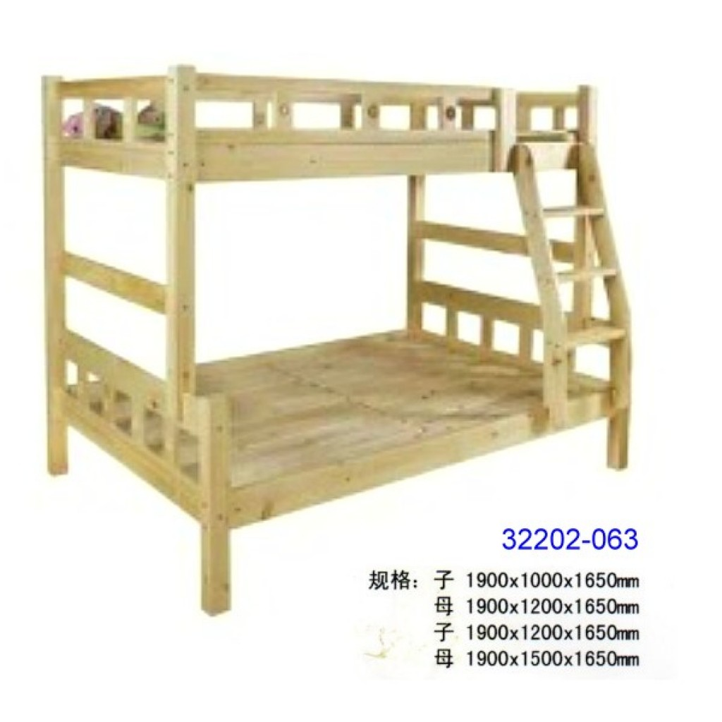 32202-063 Wooden children bunk bed