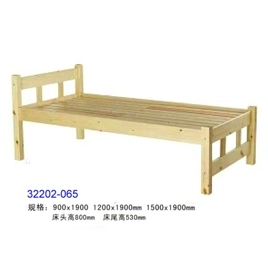 32202-065 Wooden children bed