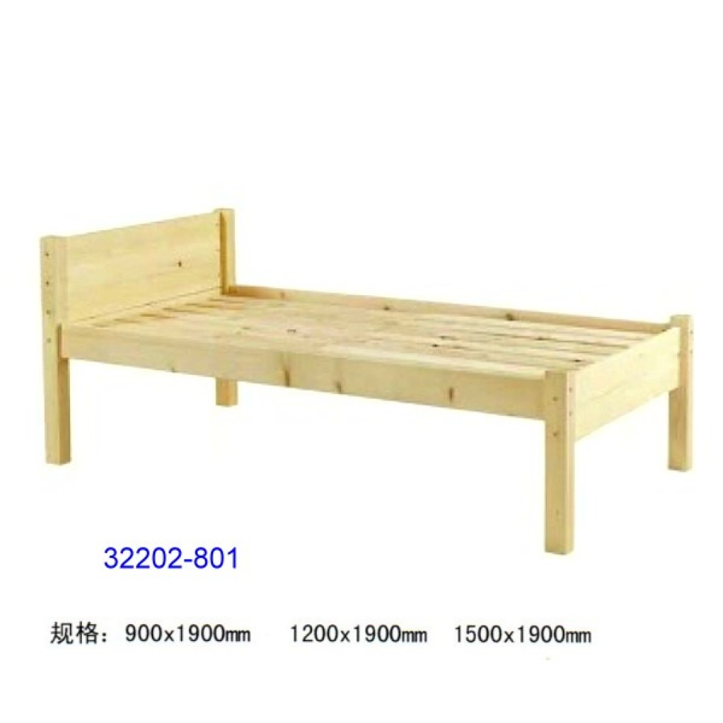 32202-801 Wooden children bed