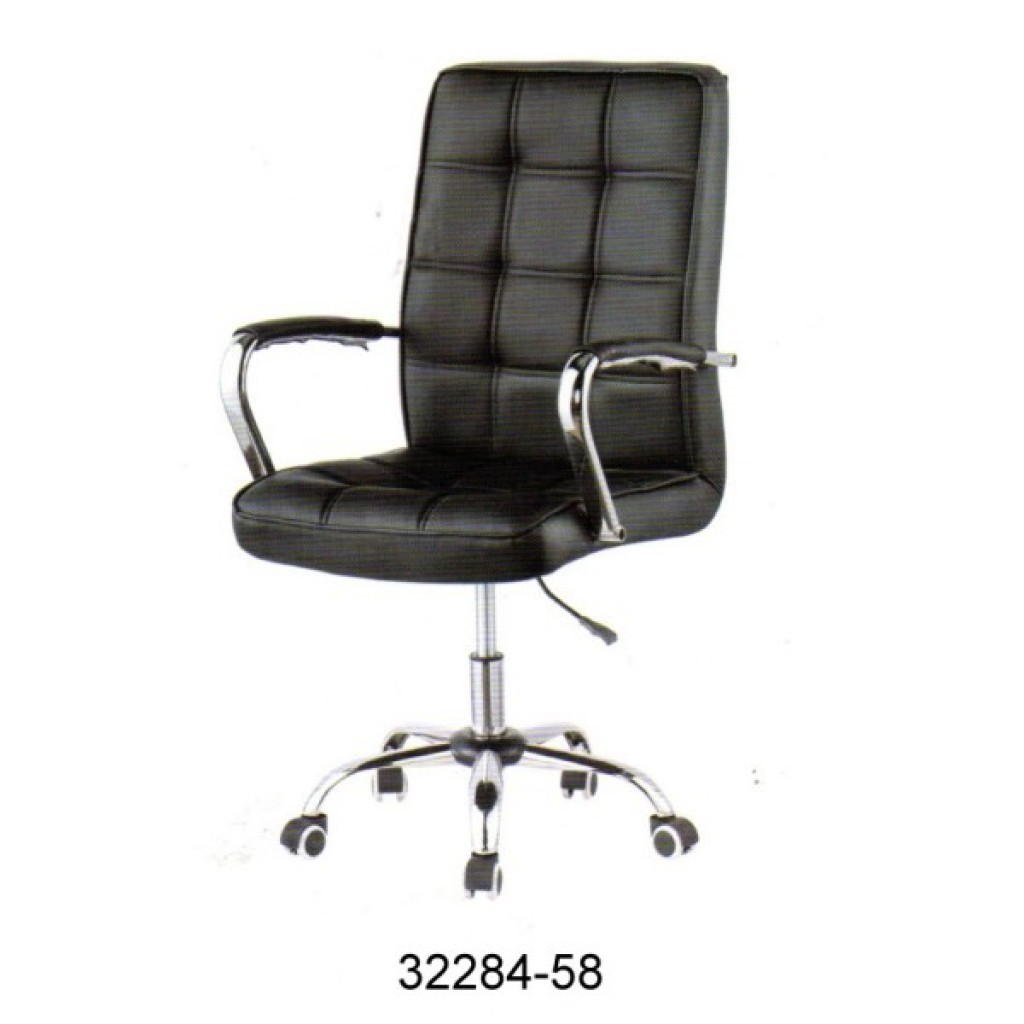 32284-58  Leather Office Chair