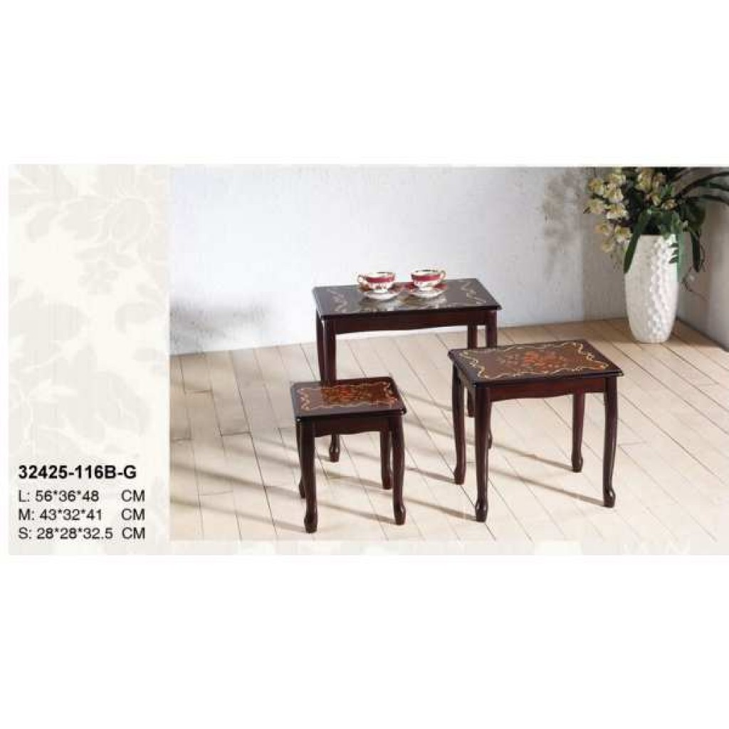 32425-116B-G Wooden Coffee Table