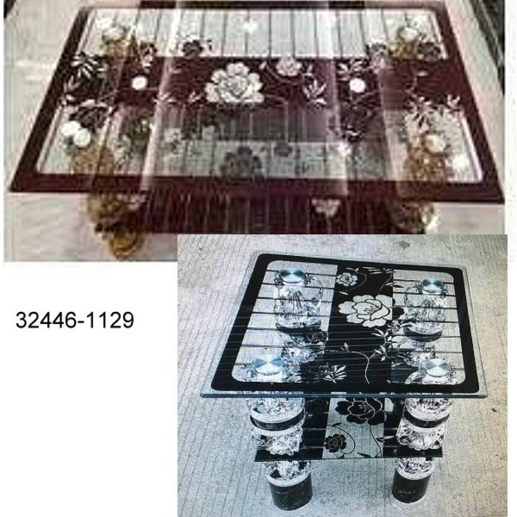 32446-1129 Glass Coffee Table