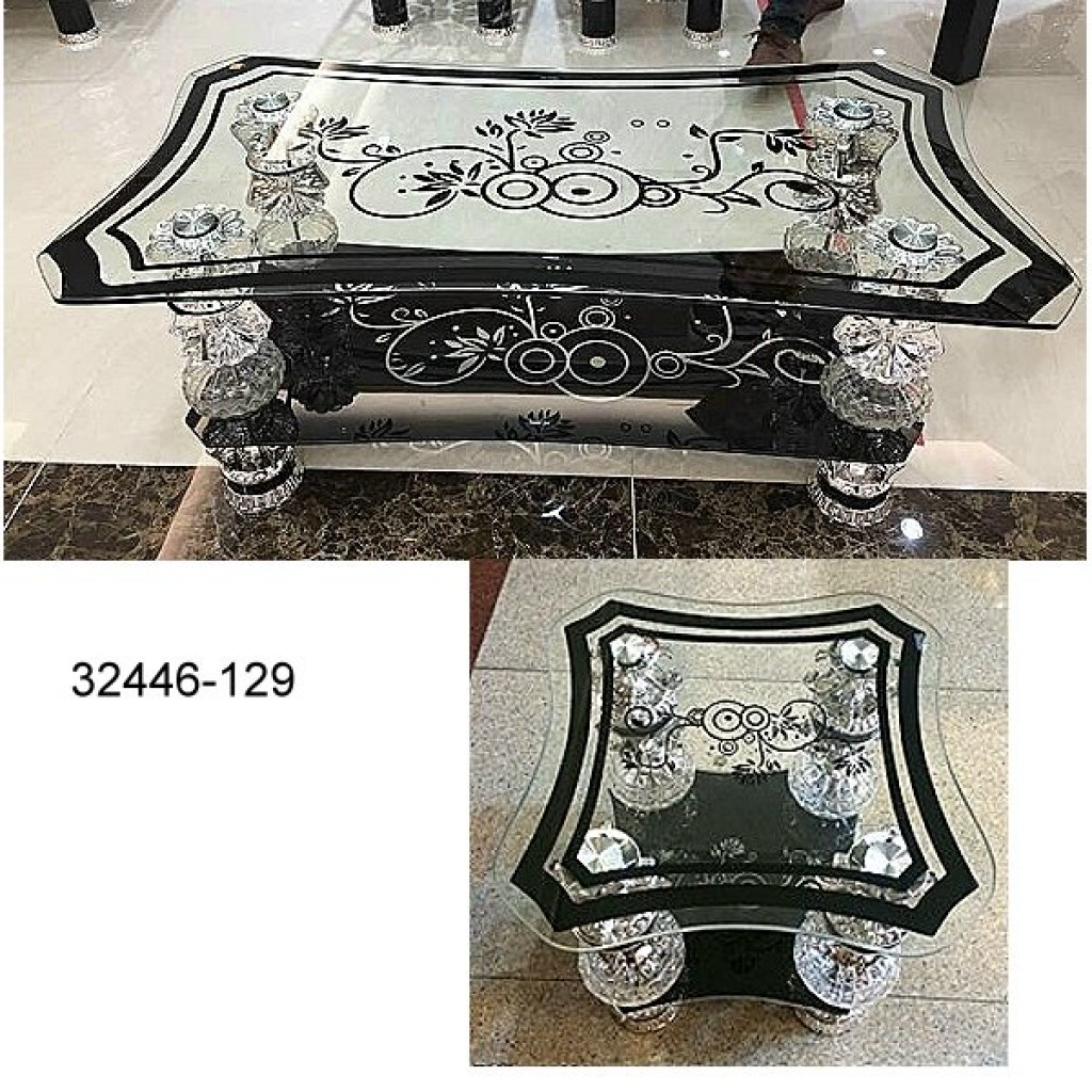 32446-CT-129 Glass Coffee Table