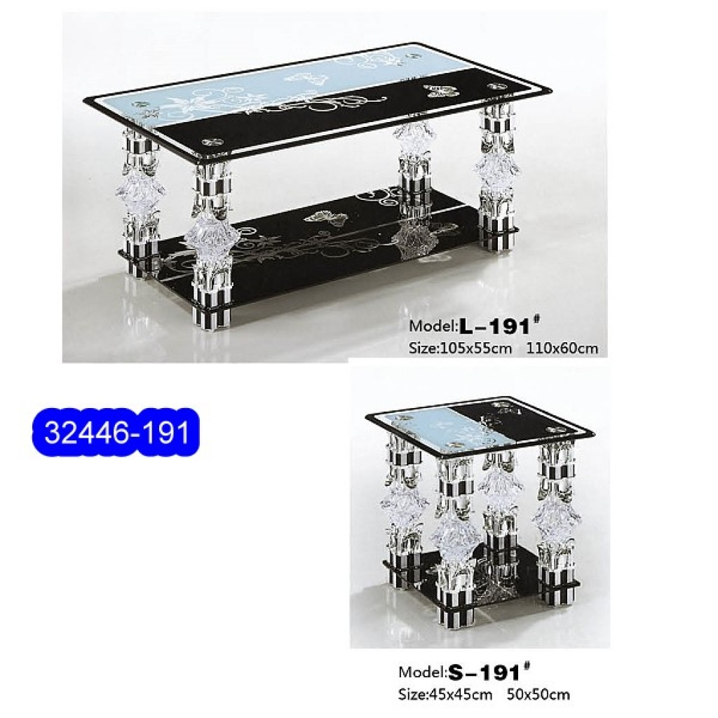 32446-191L/S Glass Coffee Table