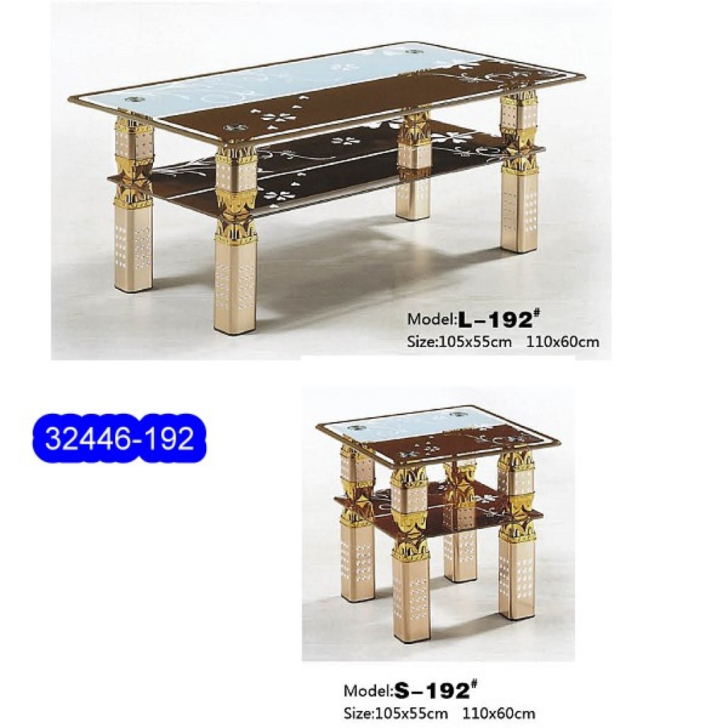 32446-192L/S Glass Coffee Table