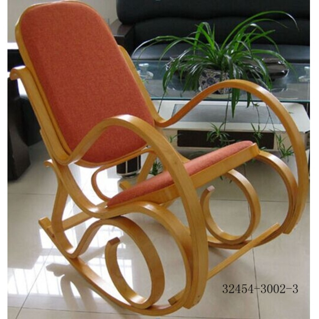 32454-A3002-3 China Bent Wood Rocking chair