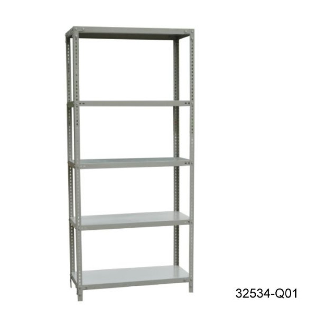 32534-Q01 Light Goods Shelf with five shelves
