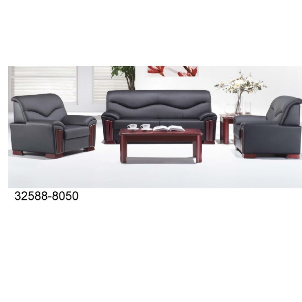 32588-8050 Leather Office Sofa Set