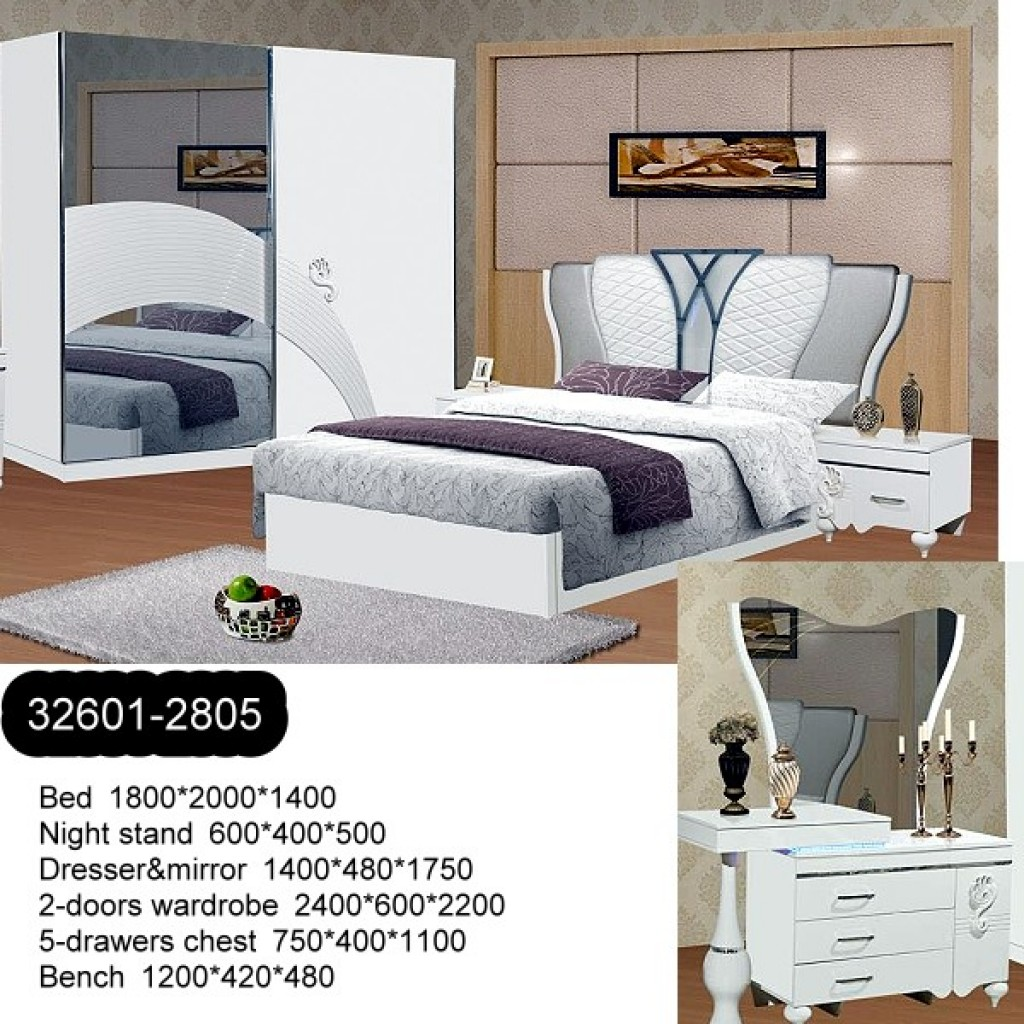 32601-2805  Wooden Bedroom Set