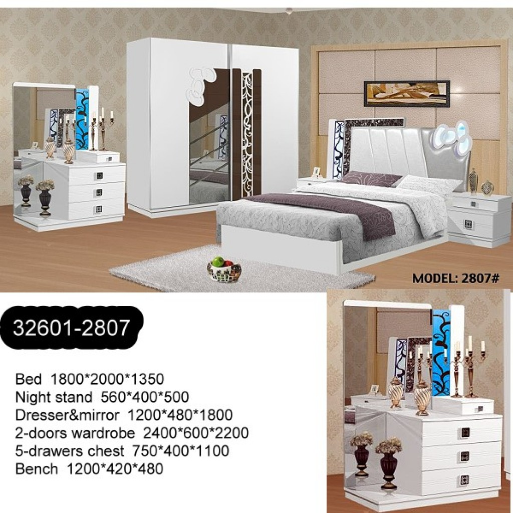 32601-2807 Wooden Bedroom Set