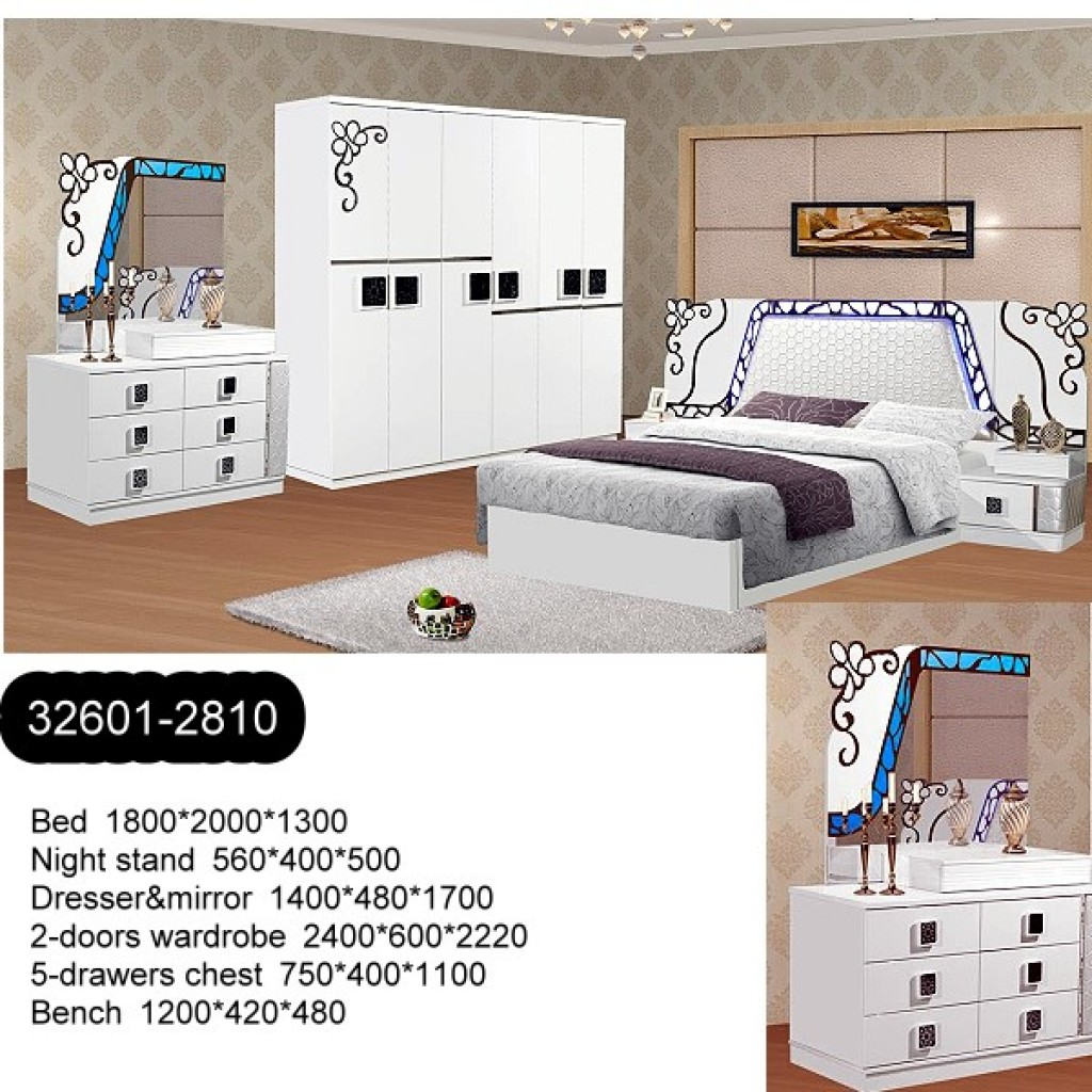 32601-2810 Wooden Bedroom Set