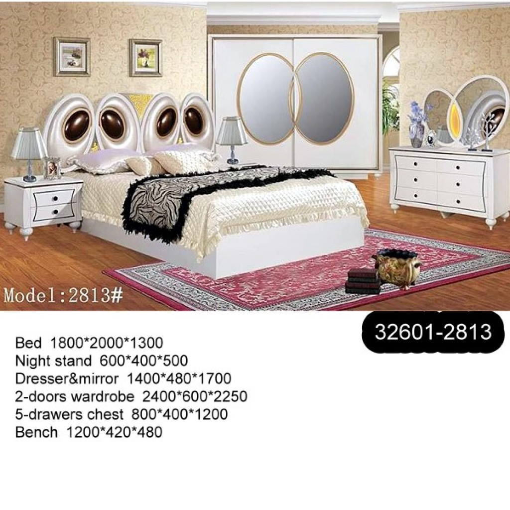 32601-2813 Wooden Bedroom Set