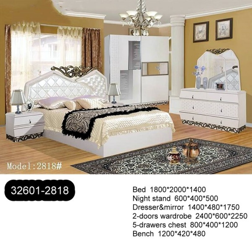 32601-2818 Wooden Bedroom Set