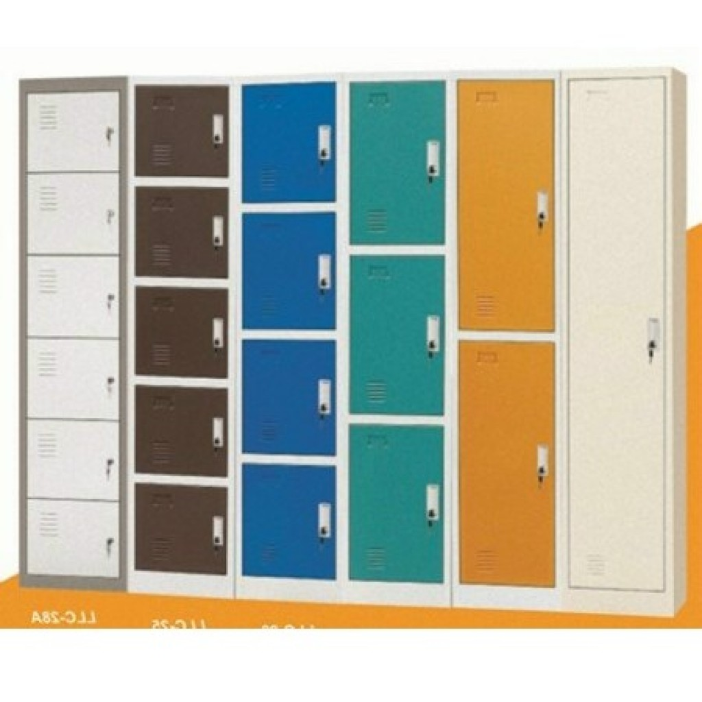 32743-C-18 2 doors locker (with screws)