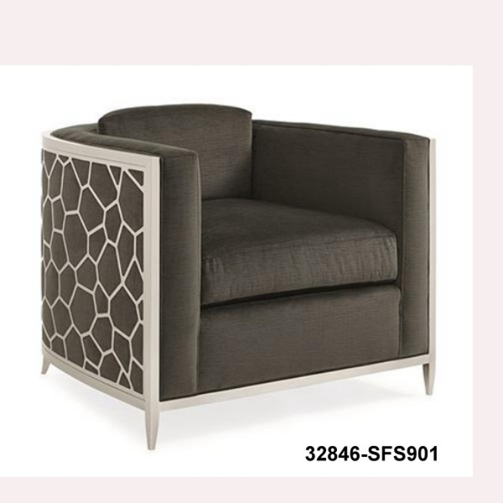 32846-SFS901 stainless steel single sofa