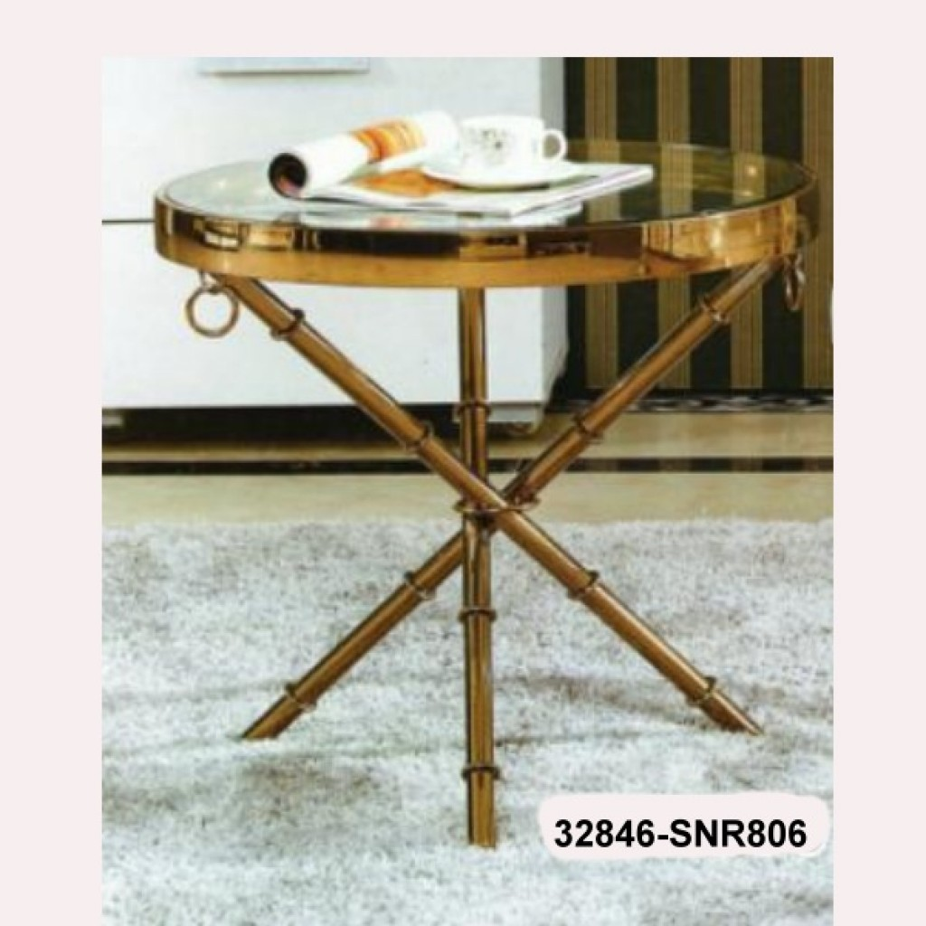 32846-SNR806 stainless steel side table