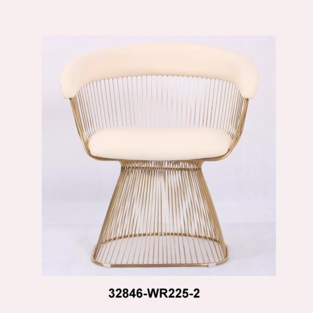 32846-WR225-2 stainless steel deluxe  chair