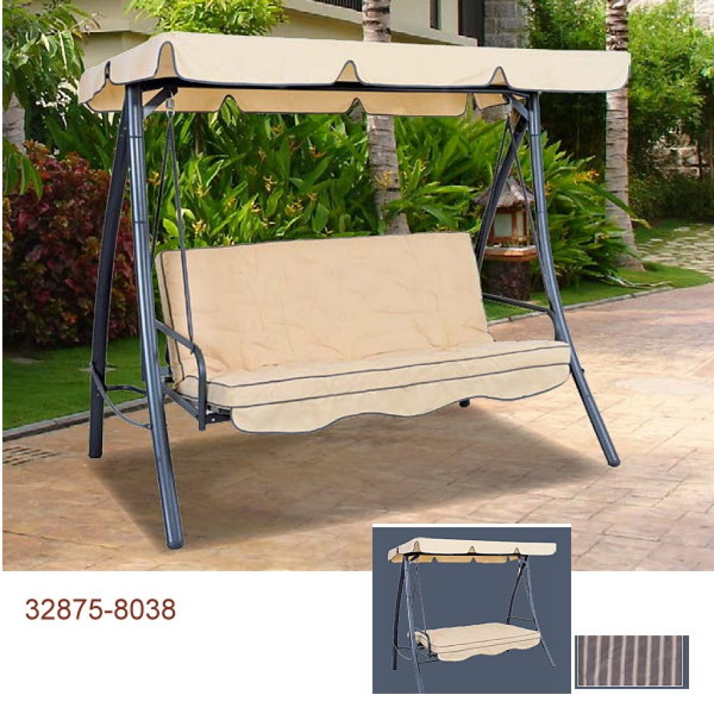 32875-8038  3 person swing set