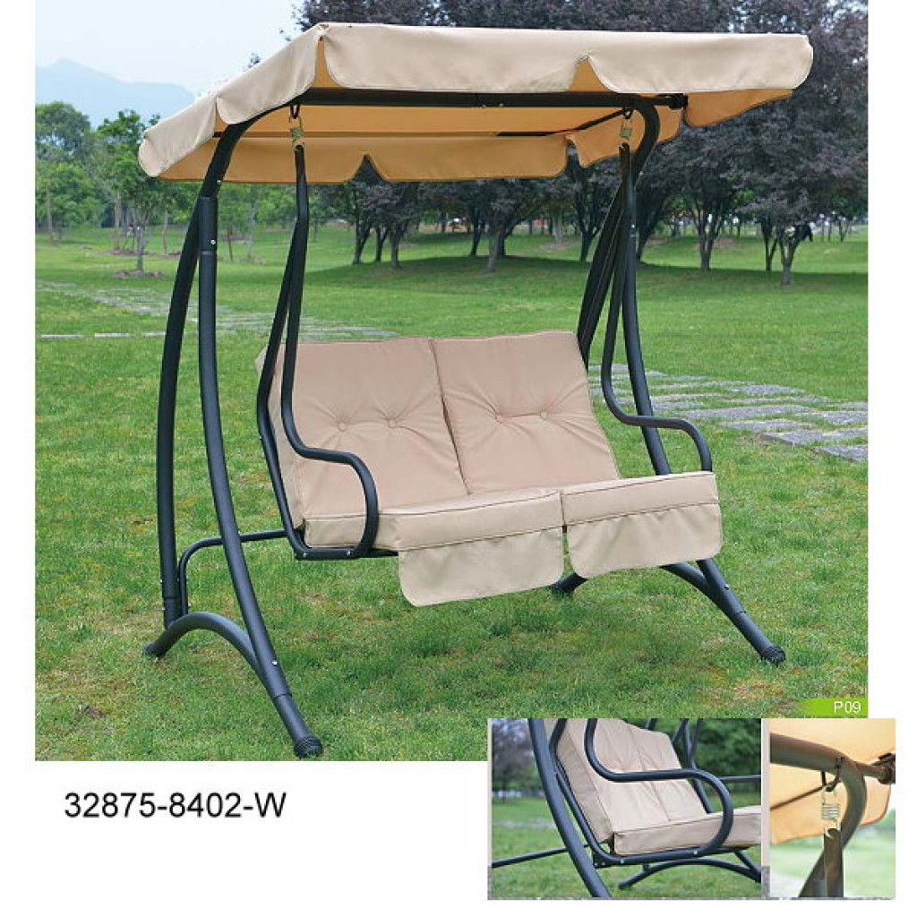 32875-8402W 2 person swing set