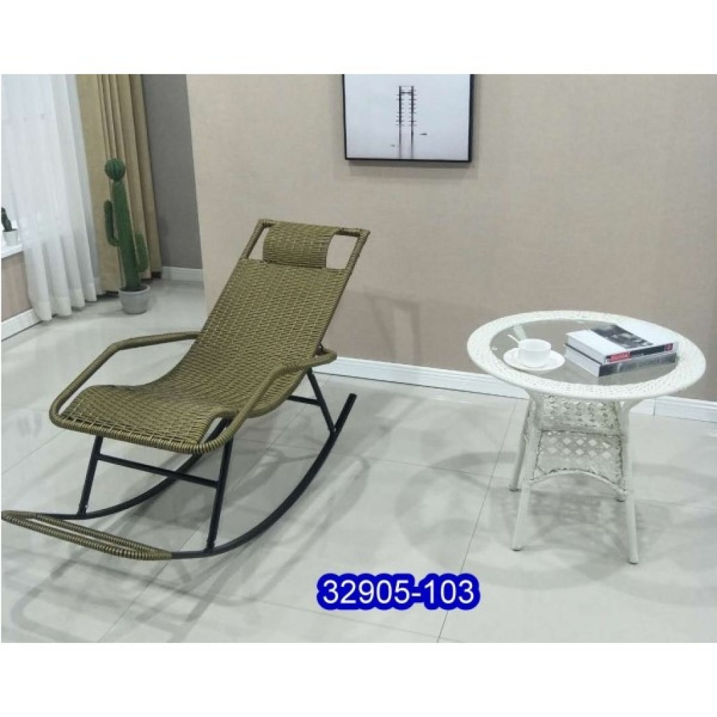 32905-103 Metal rocking chair