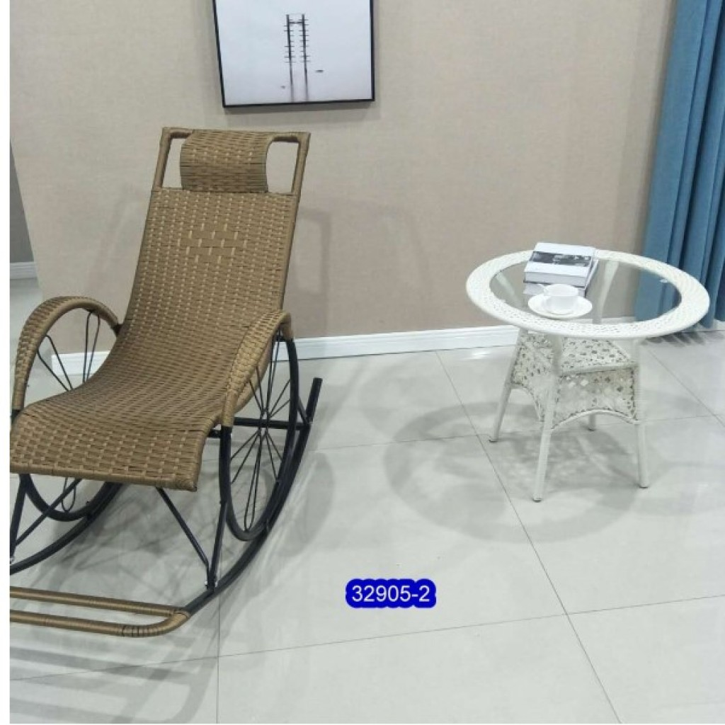 32905-2 Metal rocking chair