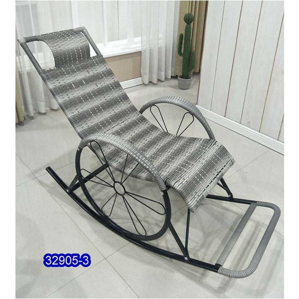 32905-3 Metal rocking chair