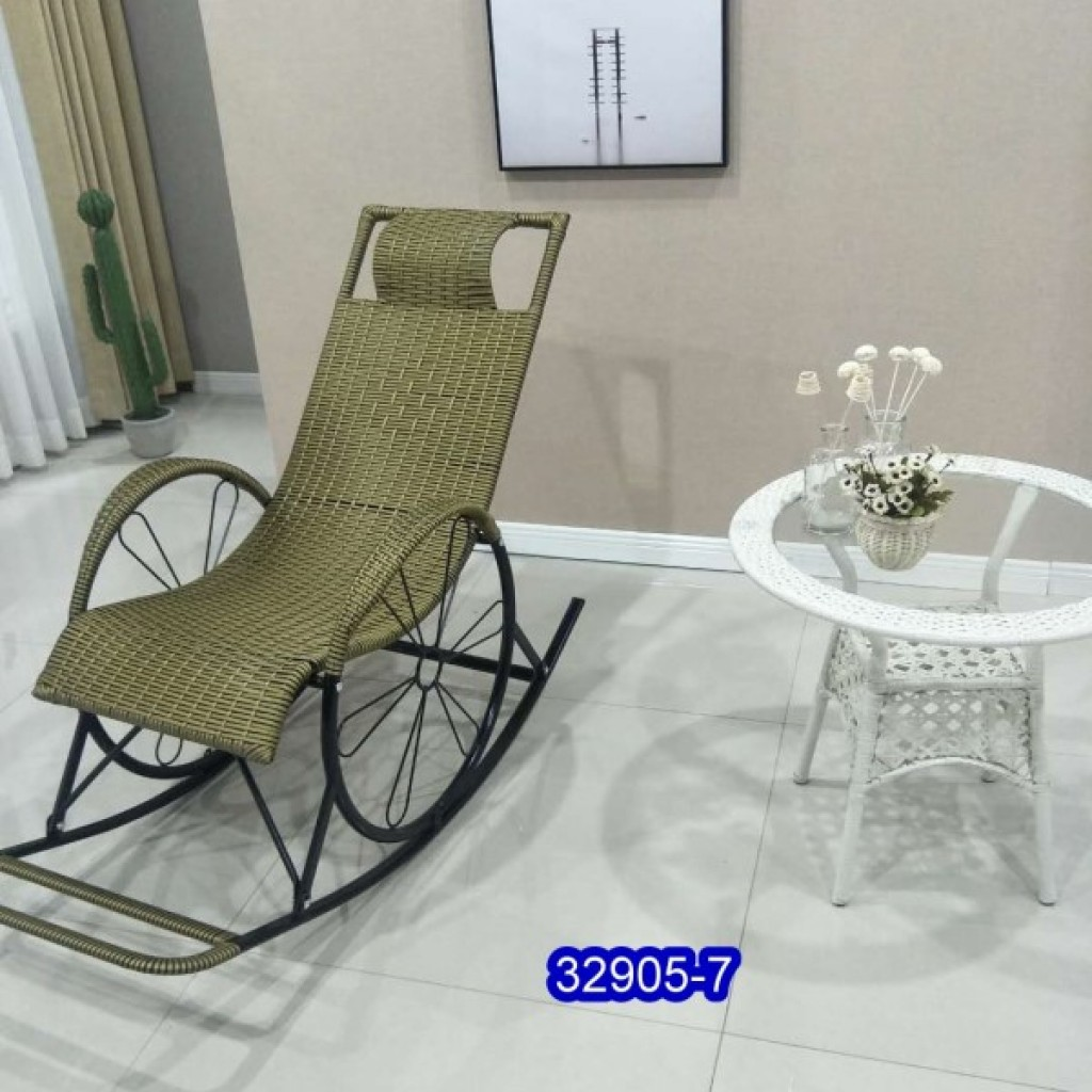 32905-7 Metal rocking chair