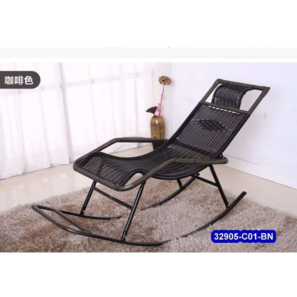 32905-C01-BN Metal rocking chair