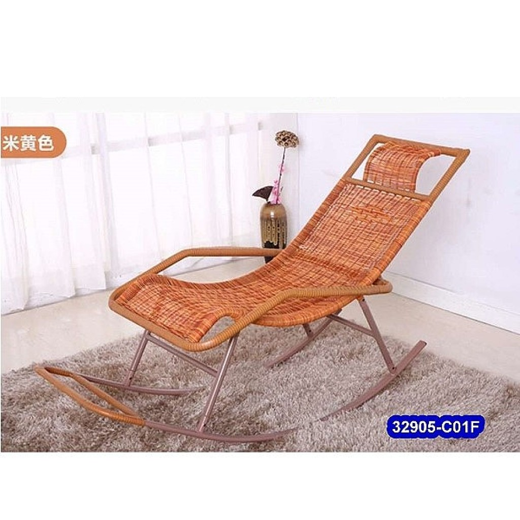 32905-C01F Metal rocking chair