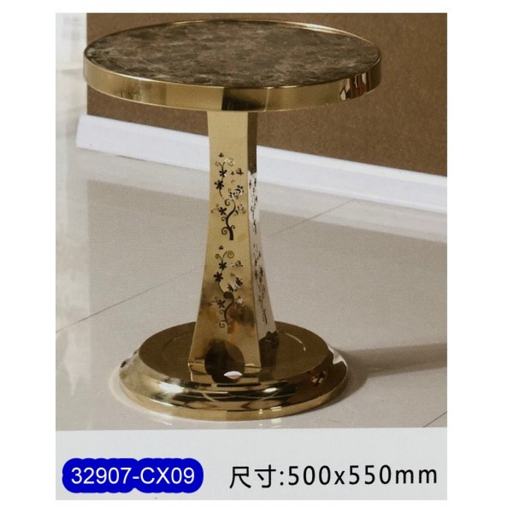 32907-CX09 Stainless Steel Tea Table