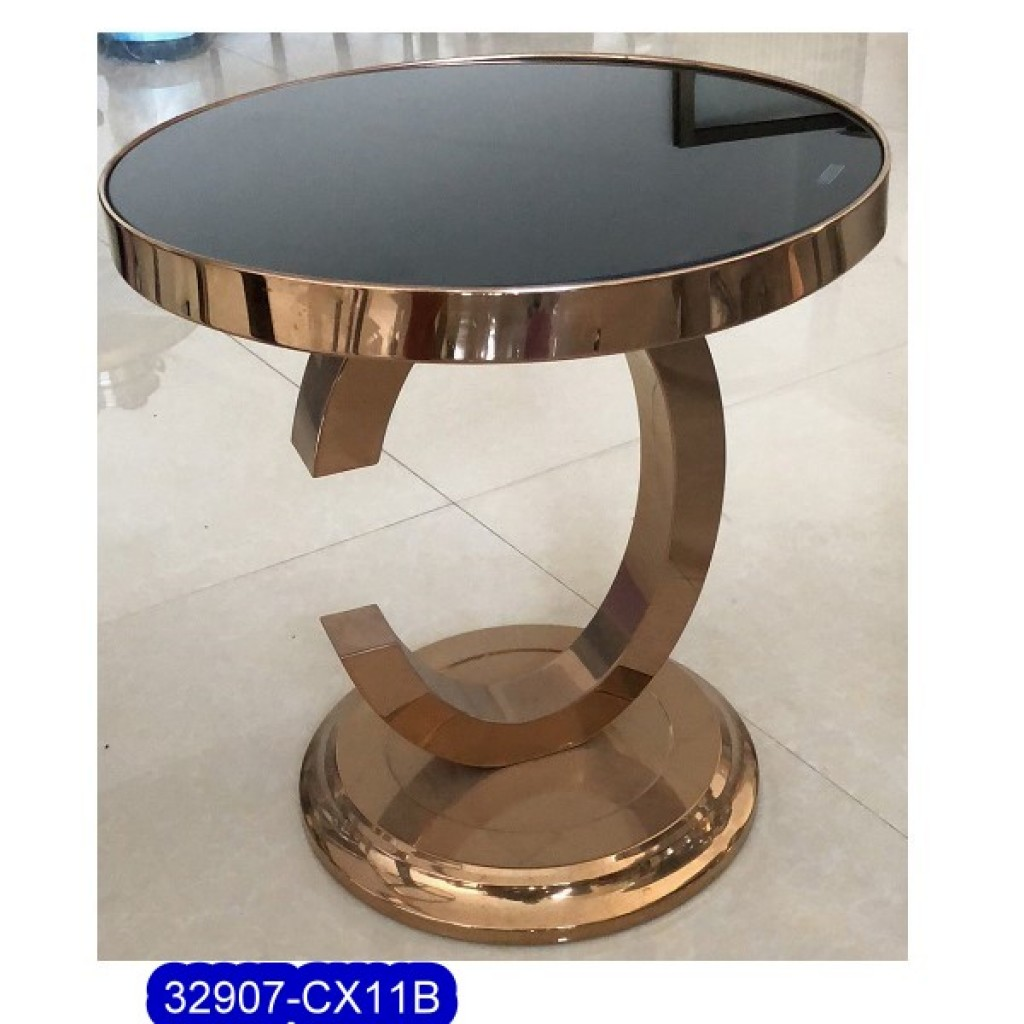 32907-CX11B Stainless Steel Tea Table