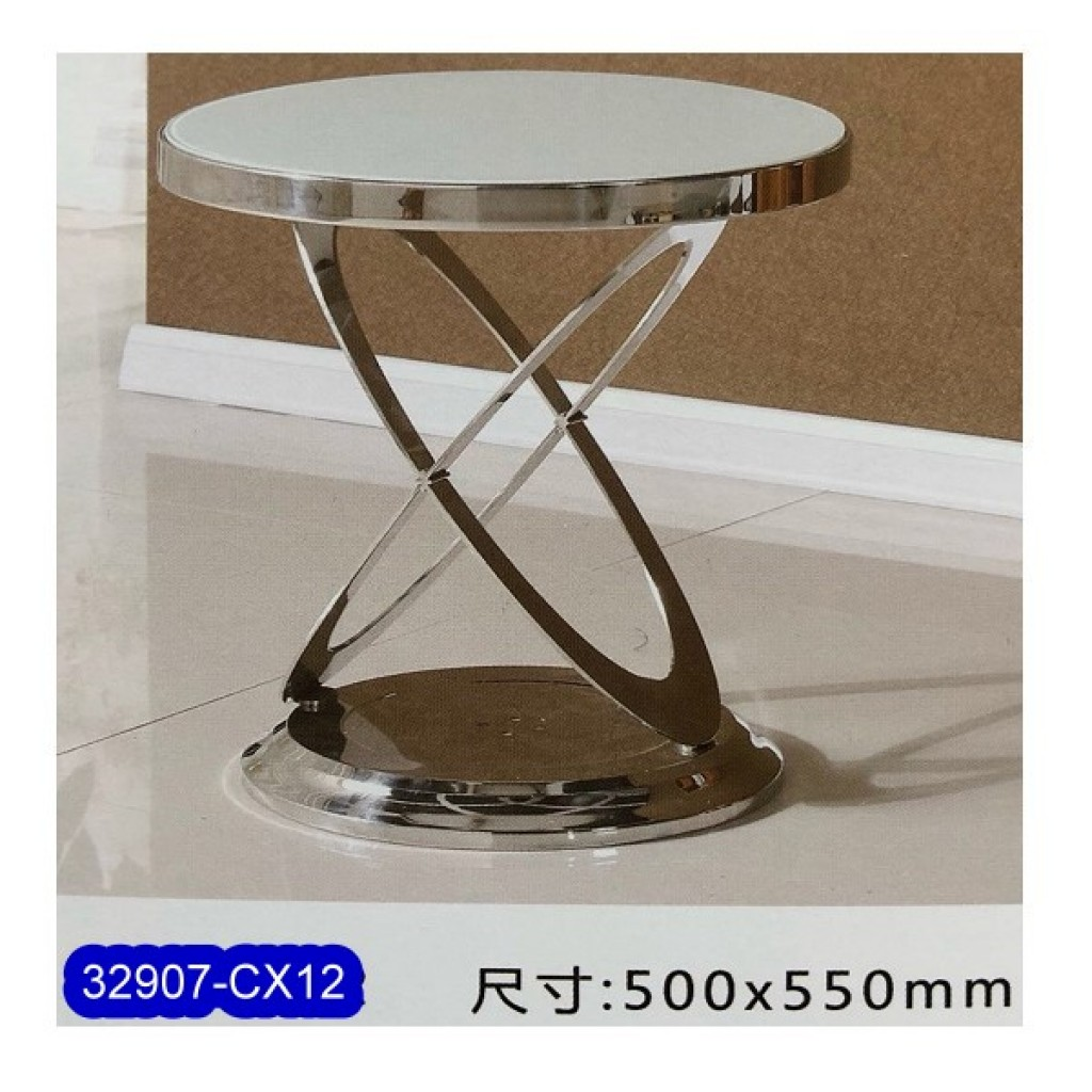 32907-CX12 Stainless Steel Tea Table
