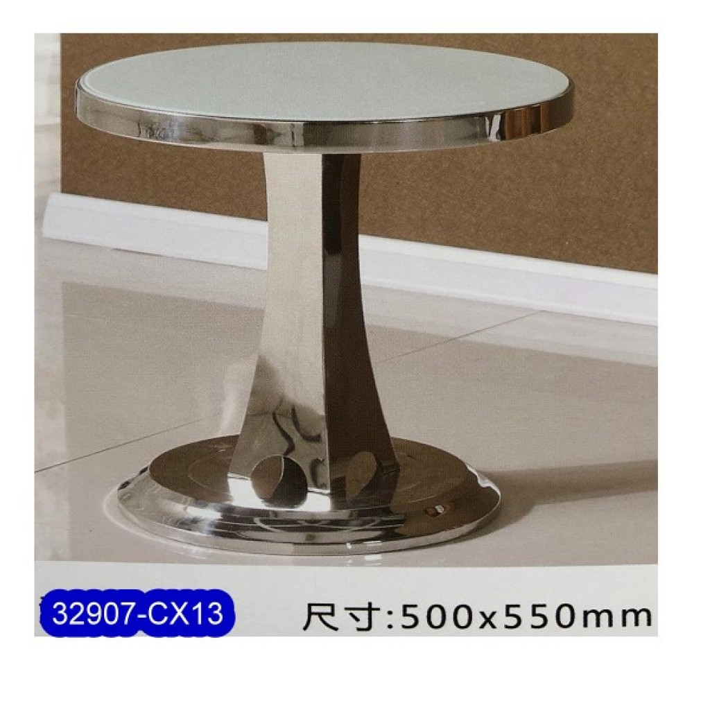 32907-CX13 Stainless Steel Tea Table
