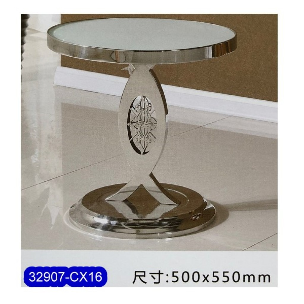 32907-CX16 Stainless Steel Tea Table