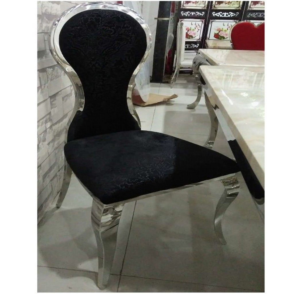 32907-CY-011 Stainless Steel  Dining Chair